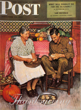 Norman Rockwell Thanksgiving 3
