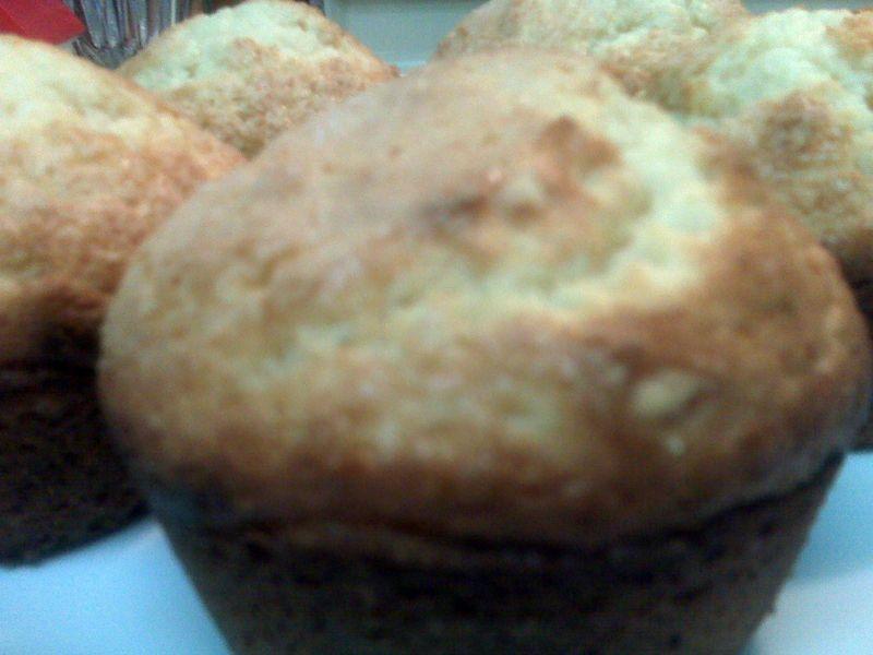 Poundcake muffins
